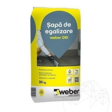 Sapa de egalizare Weber D10, 30kg de la Piatraonline Romania