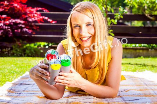 Accesorii pentru doza suc Save Cover, set de 5 bucati