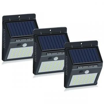 Set 3 lampi solare cu 30 LED, senzor de miscare de la Www.oferteshop.ro - Cadouri Online