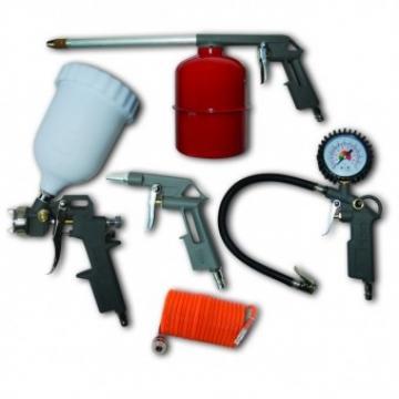 Set accesorii pentru compresor 5 piese Dedra Pansam A532009