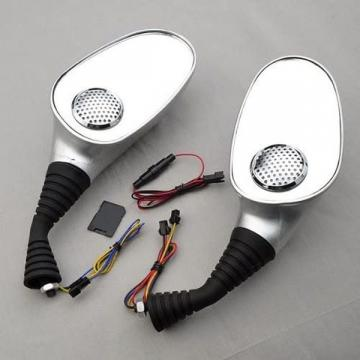 Set 2 oglinzi pentru scuter cu boxe incorporate MP3 si Radio de la Www.oferteshop.ro - Cadouri Online