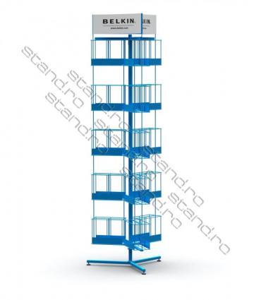 Stand / display (POSM) pentru ziare 0042