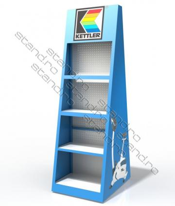 Stand display pentru produse sport 0421 de la Rolix Impex Series Srl