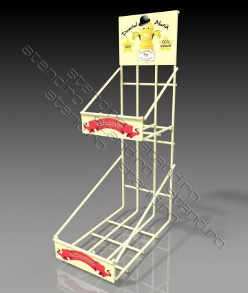 Stand rafturi sarma pentru produse mici 0935 de la Rolix Impex Series Srl