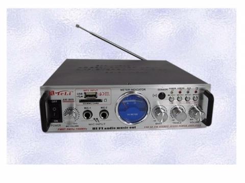 Statie de amplificare karaoke SD/USB Player AC/DC AK-905 de la Www.oferteshop.ro - Cadouri Online