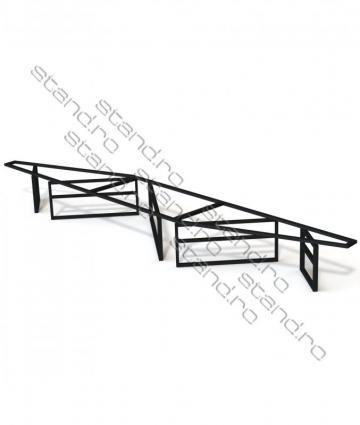 Structura metalica mobilier birou 5157 de la Rolix Impex Series Srl
