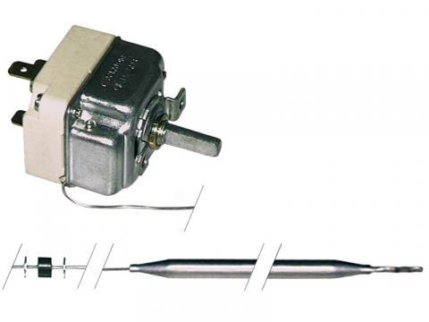 Termostat reglabil 100-180*C, 1NO, 16A