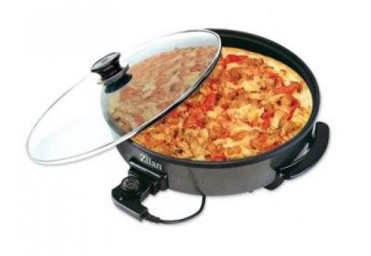 Tigaie electrica pentru pizza Zilan 7870 de la Preturi Rezonabile