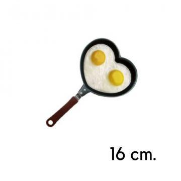 Tigaie mare in forma de Inima 16 cm de la Plasma Trade Srl (happymax.ro)