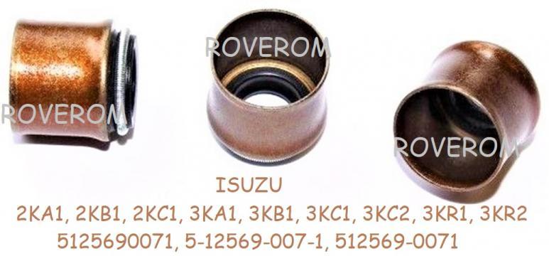 Simering supape Isuzu 3KA1, 3KB1, 3KC1, 3KC2, 3KR1, 3KR2 de la Roverom Srl