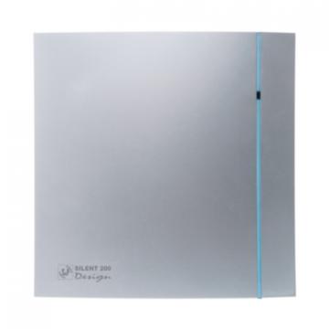 Ventilator de baie Silent-300 CRZ Silver Design - 3C