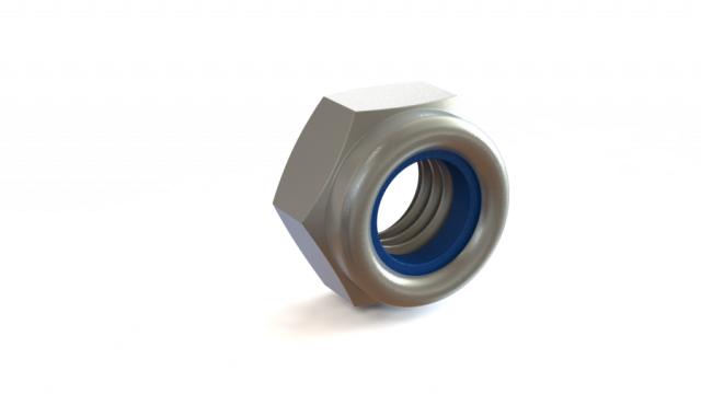 Piulite hexagonale cu autocontrare M10 de la Util Instal Construct Srl