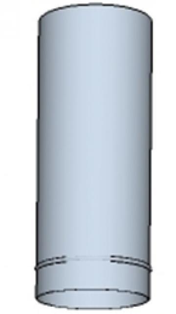 Tub rotund din otel inoxidabil 225 500mm