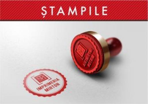 Stampile de la Imprimeria Mirton Srl
