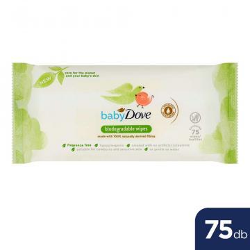 Servetele umede biodegradabile Baby Dove 75buc