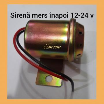 Sirena mers inapoi 12-24v de la Emcom Invest Serv Srl