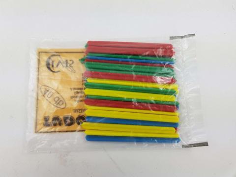 Betisoare din plastic pentru numarat de la Pepita.ro