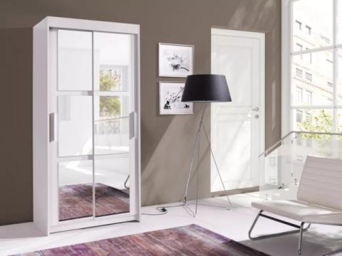 Dressing Octav alb - 100 cm de la CB Furniture Srl