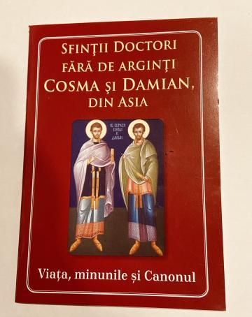 Carte, Sfintii doctori fara de arginti Cosma si Damian de la Candela Criscom Srl.