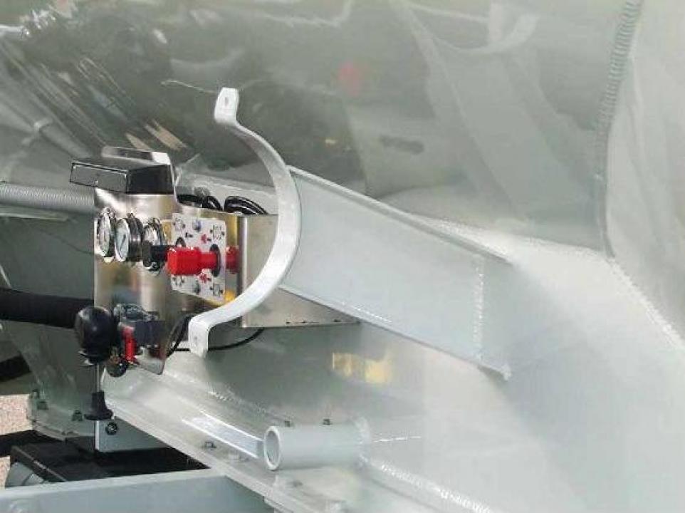 Suporti aluminiu tubulatura PVC / inox
