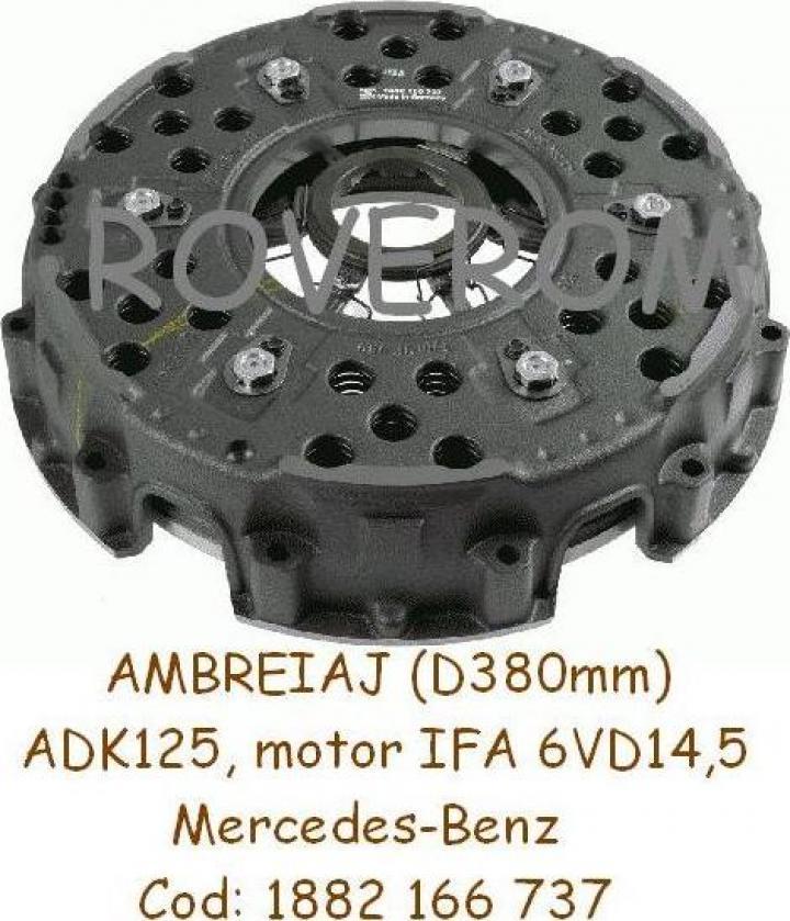 Ambreiaj macara ADK125, motor IFA 6VD