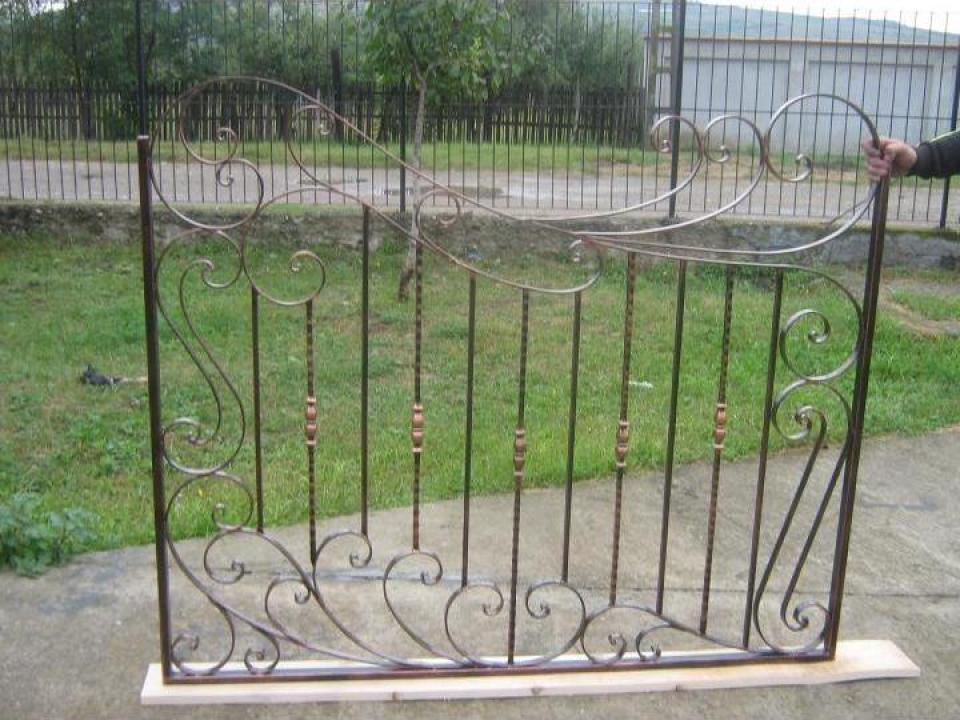 Gard fier forjat PA0065