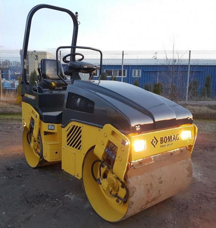 Inchiriere cilindru compactor Bomag BW 100 AD 4
