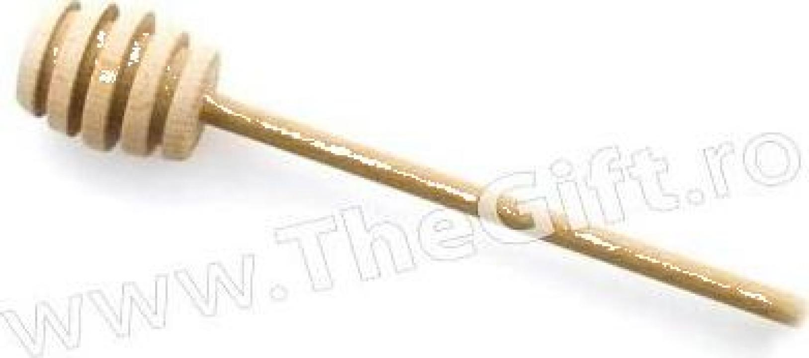 Lingura din lemn, pentru miere