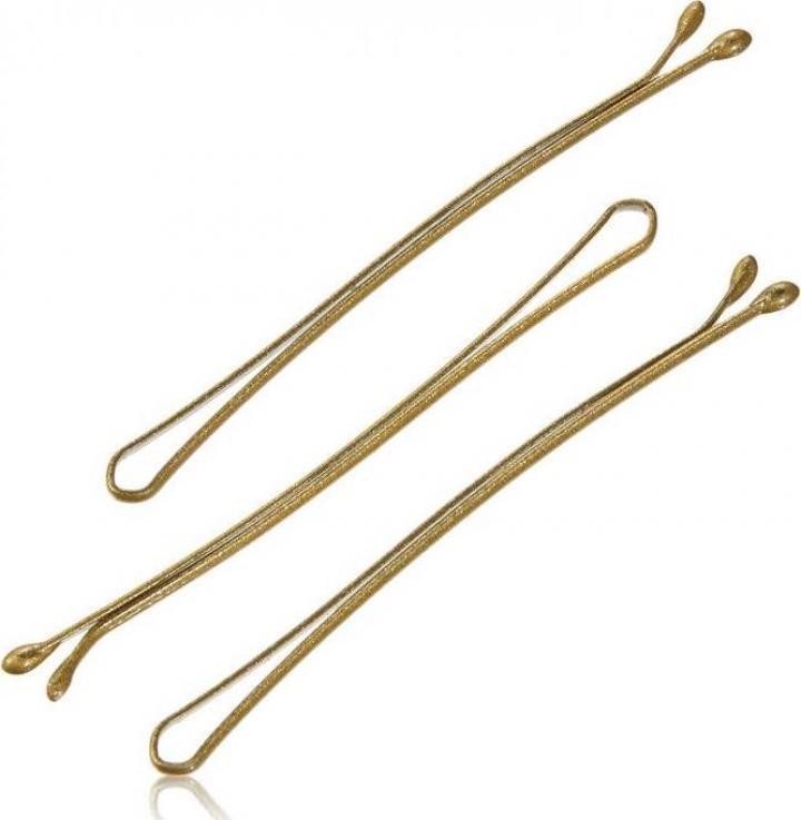Agrafe par 4 cm, aurii