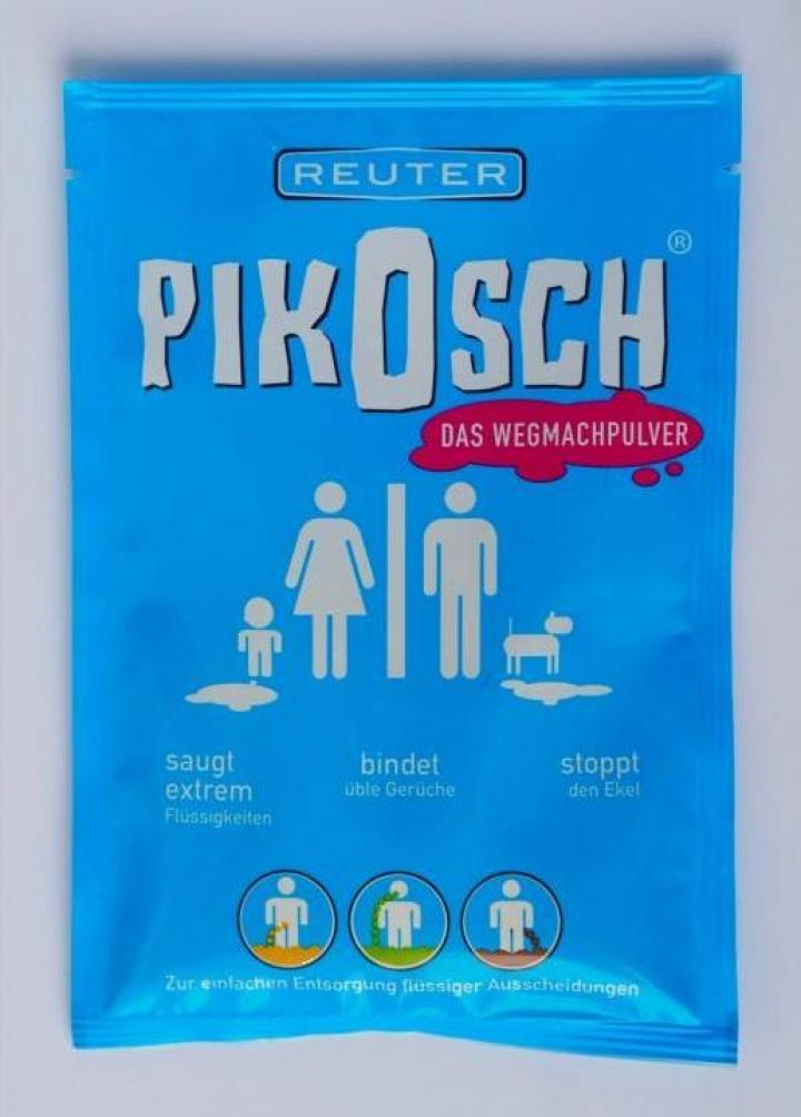 Pudra plic Pikosch indepartare lichide urina, sange, voma