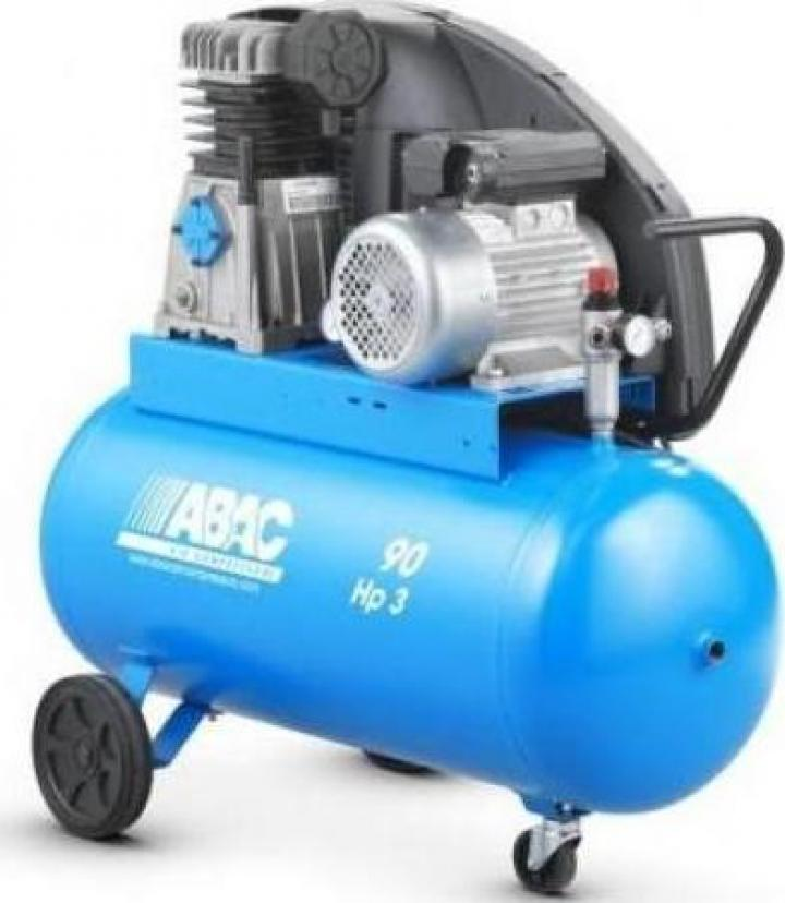Compresor profesional cu piston Abac Pro A39B 270 CT4