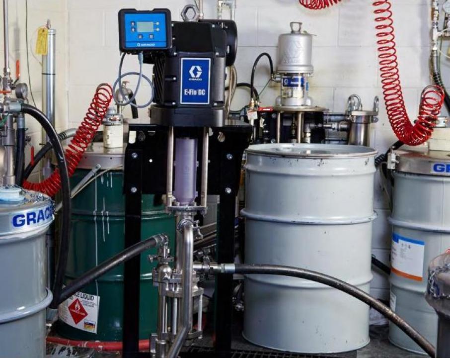 Pompa de transfer fluide Graco E-FLO DC