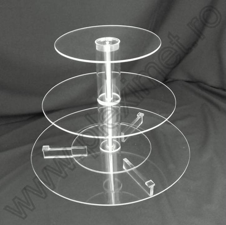 Suport circular cu 3 nivele pentru tort SPEv 14