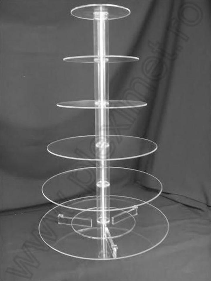 Suport circular cu 6 nivele pentru tort SPEv 13.1