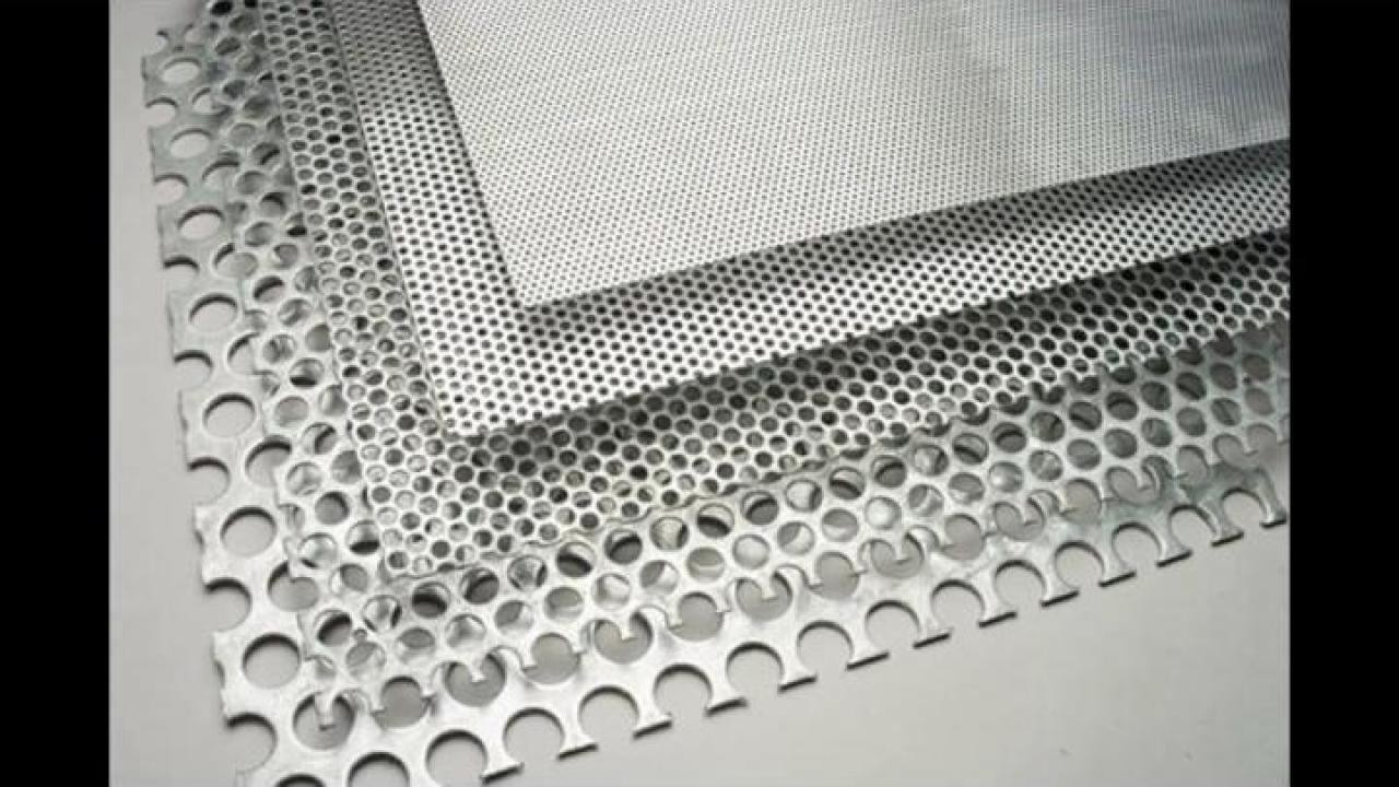 Tabla aluminiu perforata