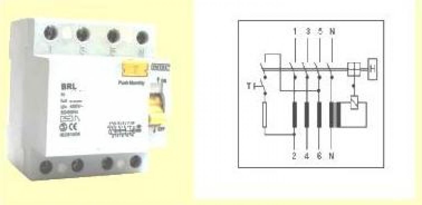 Intrerupator automat diferential 4P, 25A, 400V Comtec