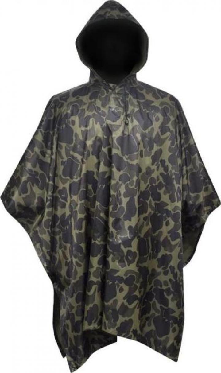 Pelerina de ploaie Army pentru camping/camuflaj