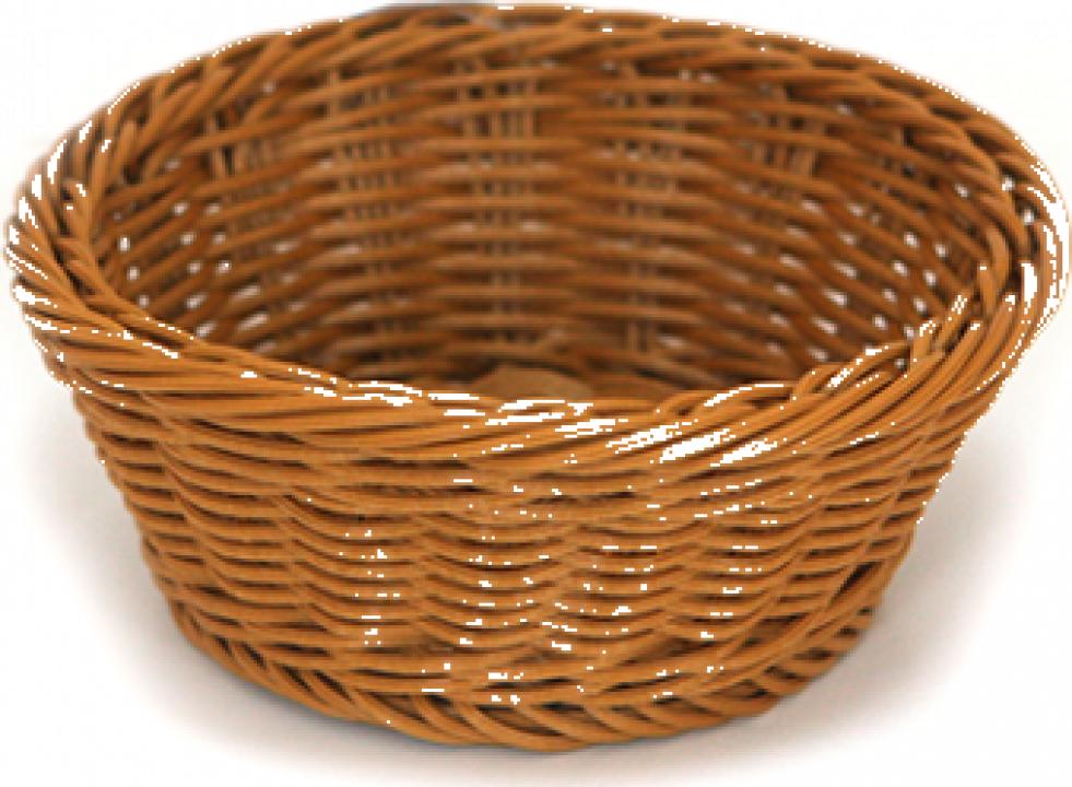 Cos rotund servire paine, fructe, legume Raki 18,5x7,5cm