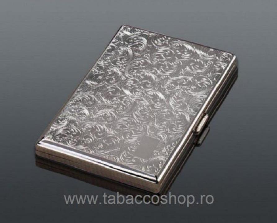 Tabachera din metal 0108 pentru 20 tigari lungi