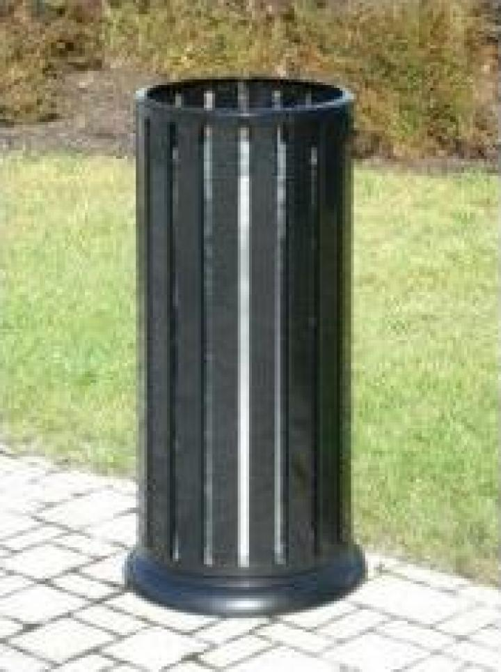Cos gunoi metalic stradal 60 litri