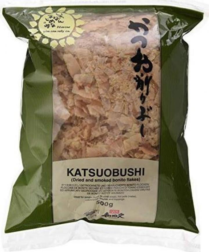 Fulgi de bonito Katsuobushi flakes, punga 500 g