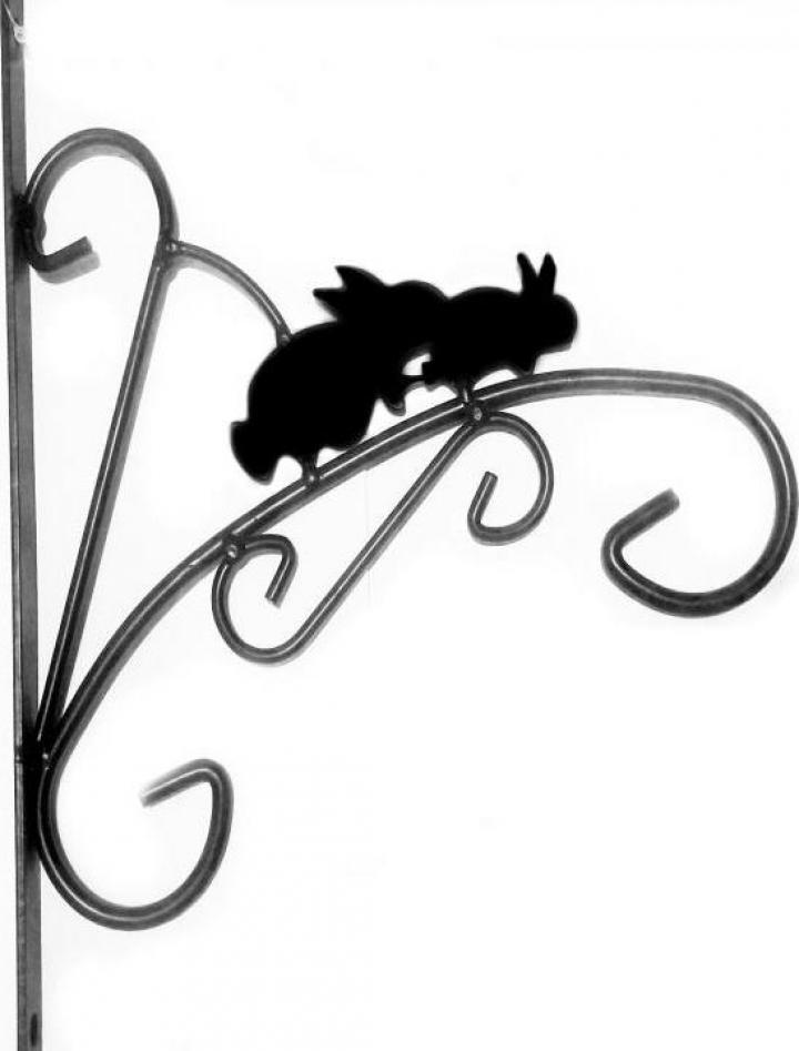 Suport suspendat pentru ghivece - Iepure