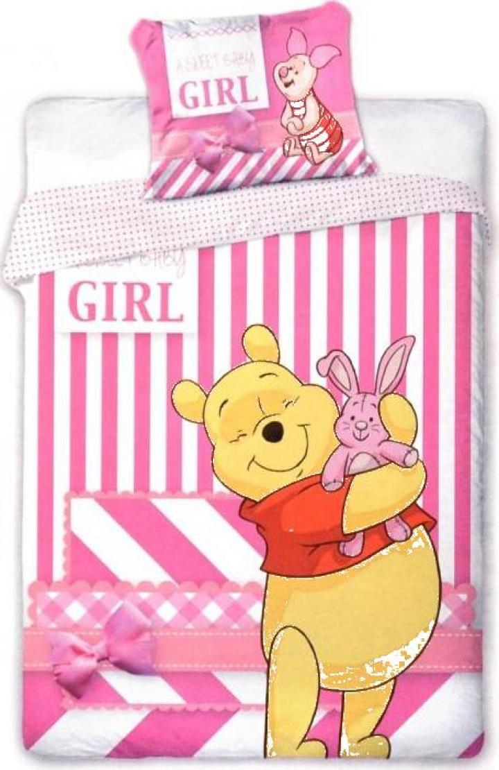 Lenjerie patut bebe Pooh