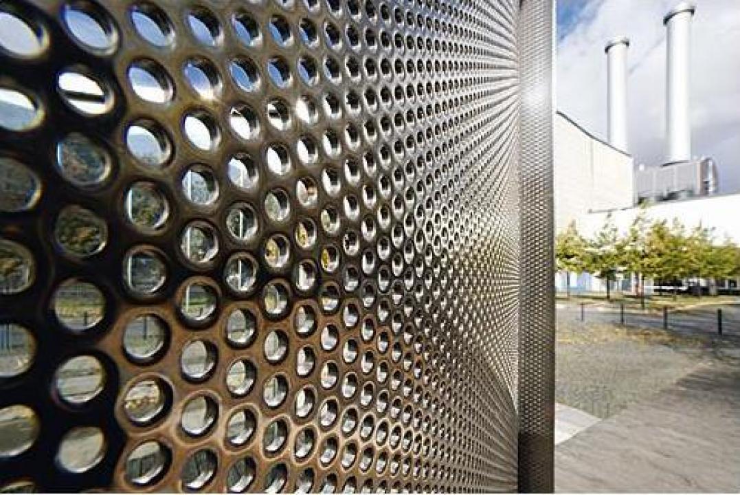 Tabla inox perforata 0.5x1000x2000mm R5T8 Rv 5-8