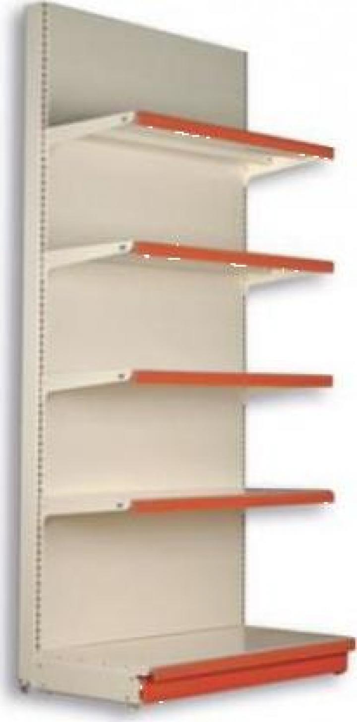 Raft metalic de perete