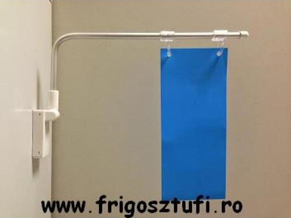 Suport magnetic reglabil pentru rame ABS si materiale info