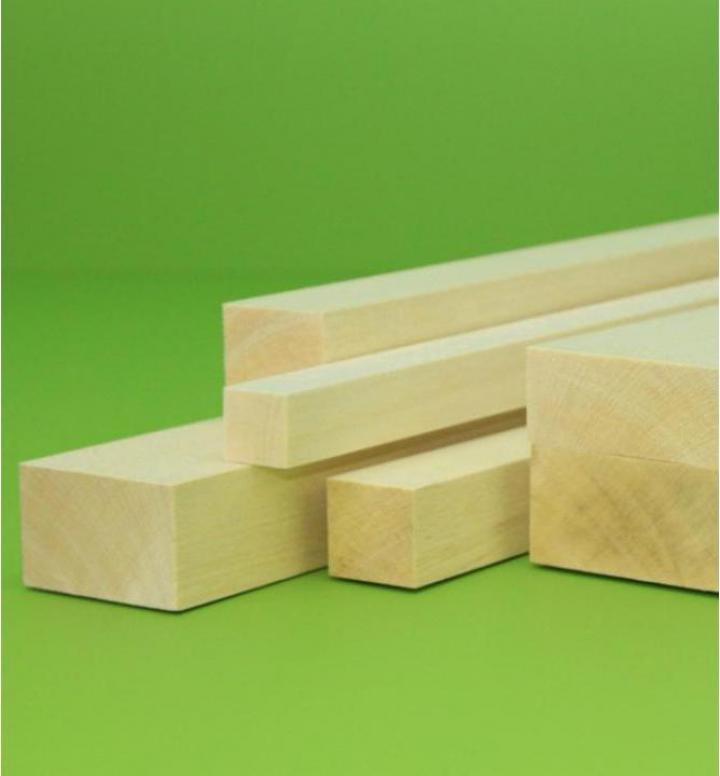 Bloc lemn balsa 40 x 40 x 1000 mm