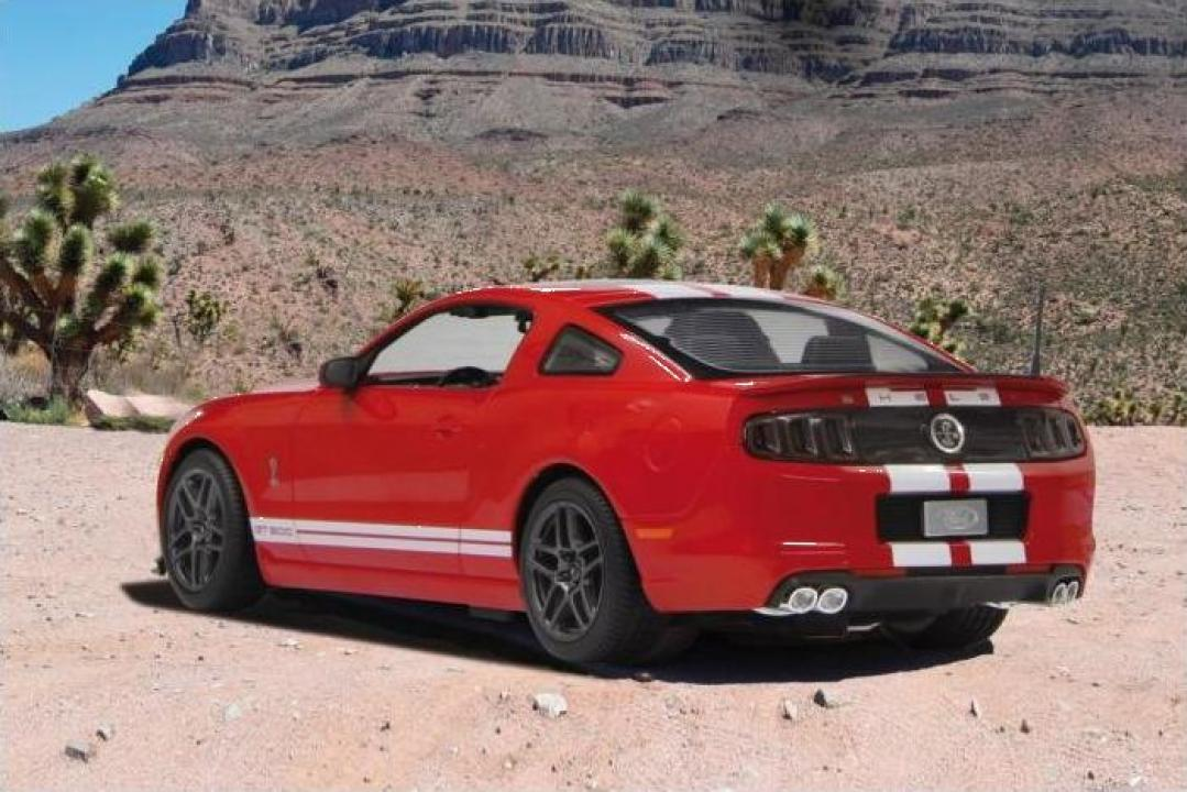 Jucarie masina cu radiocomanda Jamara Ford Shelby GT500 Red