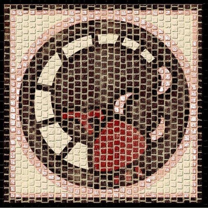 Mozaic decorativ ceramica horoscop Scorpion Domenech