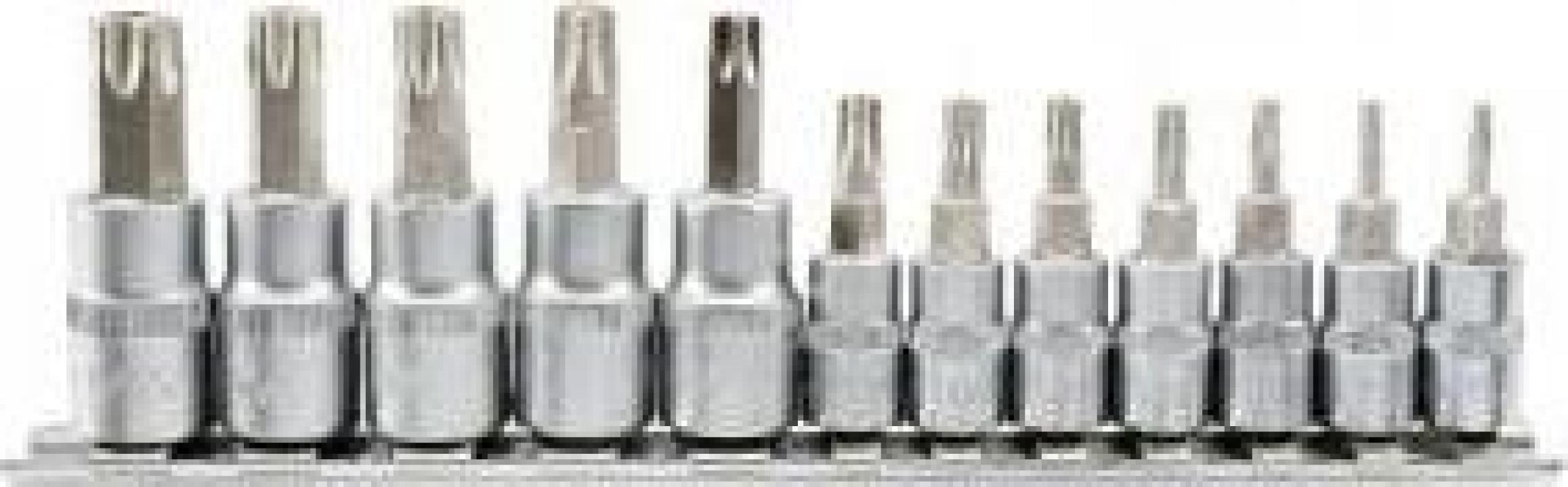 Set biti torx canelate Yato YT-04332, Cr-V, 12 buc